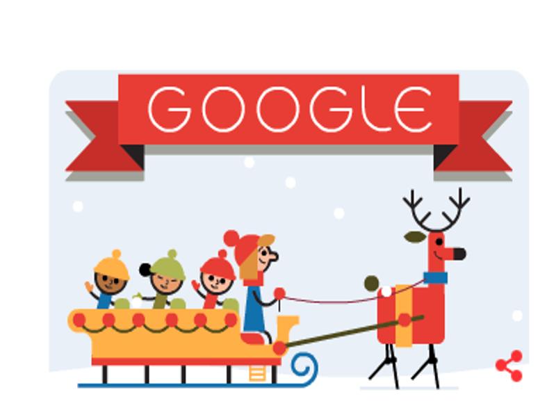 Google motion doodle reminds us 'Tis the Season