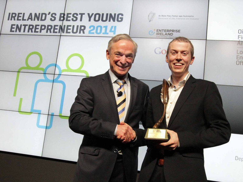 Xpreso CEO named Ireland's Best Young Entrepreneur