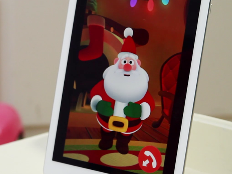 iOS app lets parents play Santa to their kids over the internet