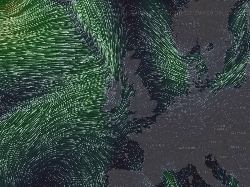 Live weather map is the definition of beautiful data