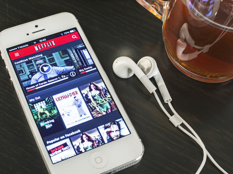 Netflix won't be allowing viewers to watch content offline