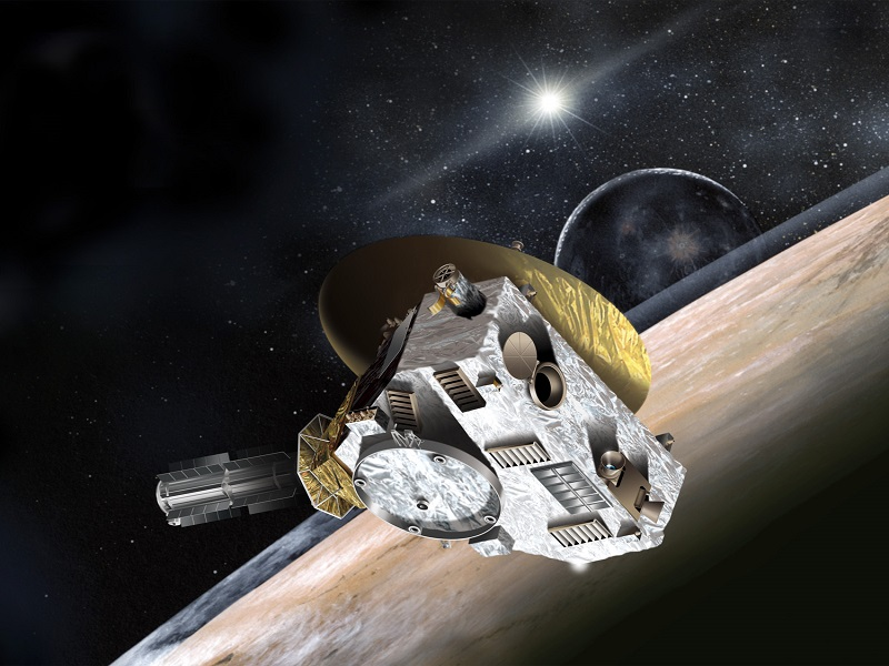 9.3bn miles later, New Horizons wakes up for Pluto mission