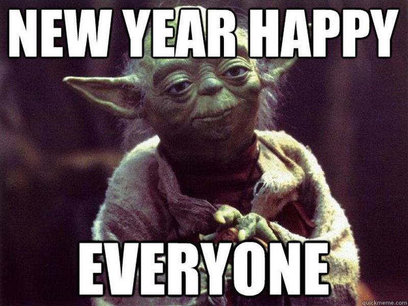 Gigglebit: Get happy with New Year memes!