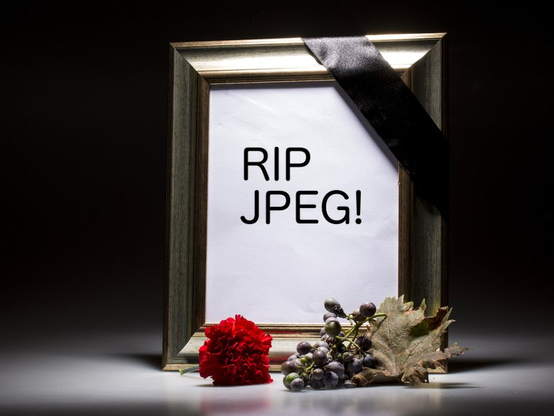 Picture the scene: JPEGs die, BPGs emerge to dominate the world