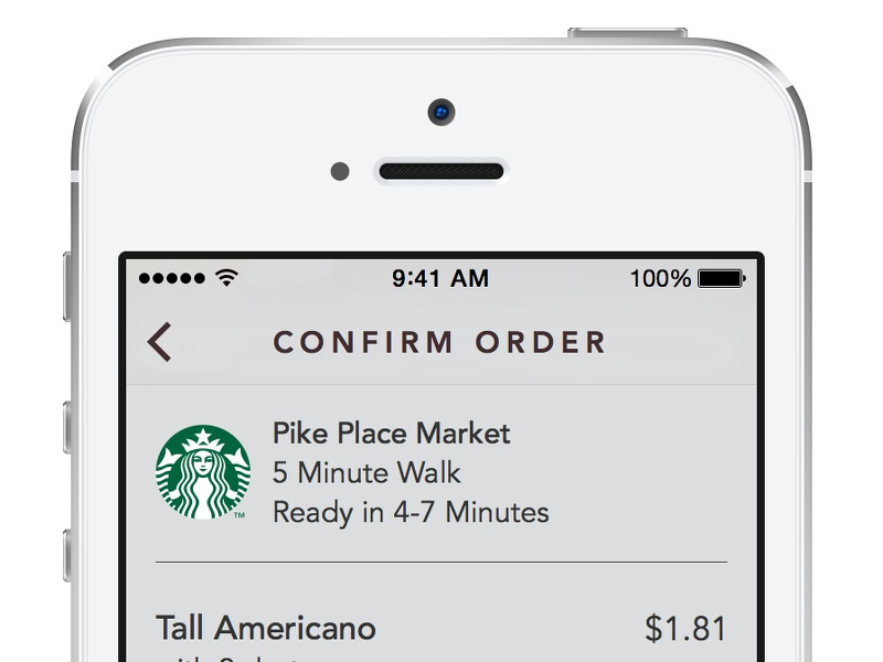 Starbucks' new app allows mobile ordering and payment #queuebuster