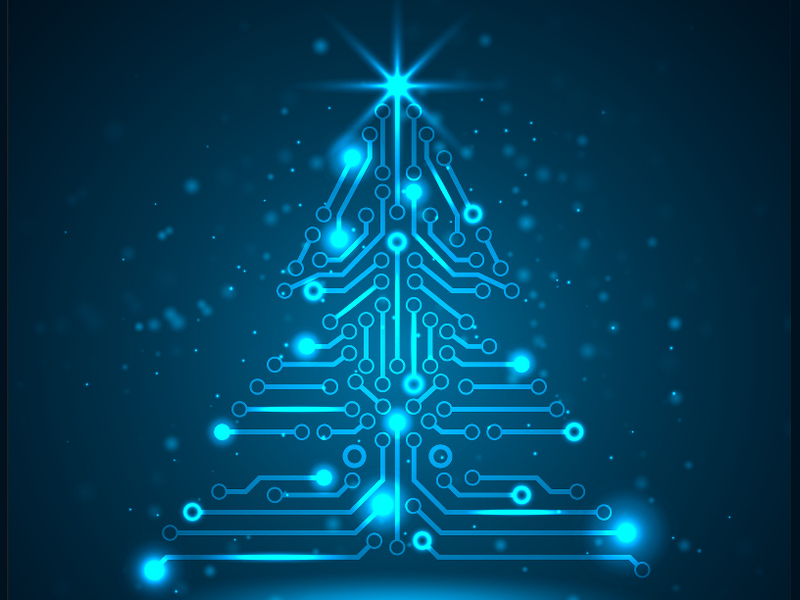 Gigglebit: 15 fantastic Christmas trees to wow tech geeks