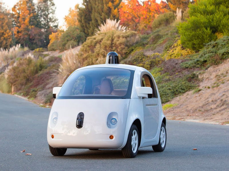 Google's self-driving cars are cute and they are ready, says Oatmeal cartoonist