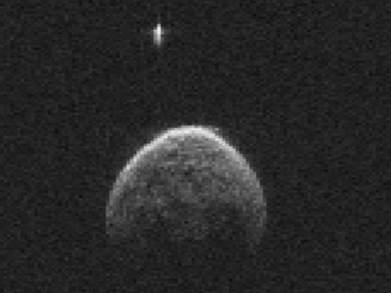 Asteroid that shot past Earth had its own moon (gif)