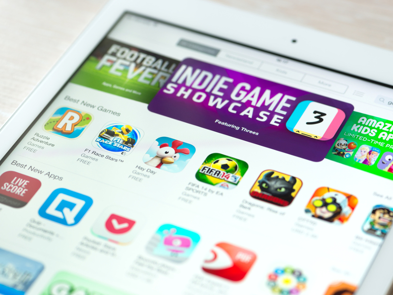 Consumers spent US$500m on apps in the first week of January, says Apple