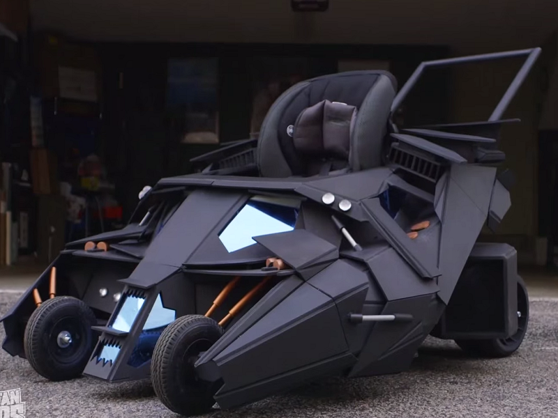 The week in gadgets: Batmobile stroller, electric skateboard and a robot worm