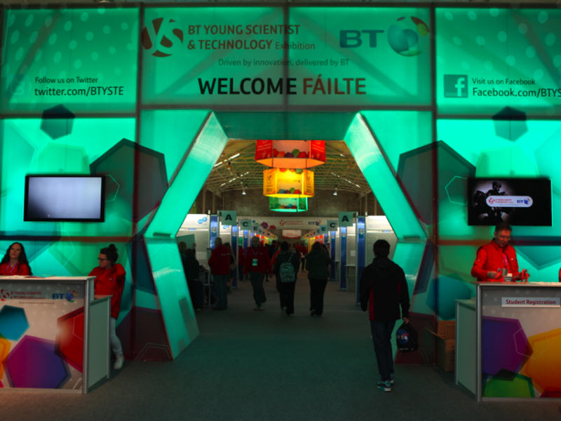 Day 1 at the BT Young Scientist & Technology Exhibition 2015 (video)