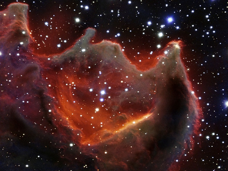 Very Large Telescope captures mysterious 'mouth of the beast'