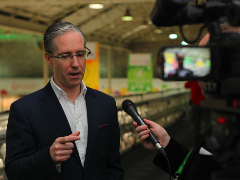 Interview with BT's Colm O'Neill at 51st BT Young Scientist & Technology Exhibition (video)