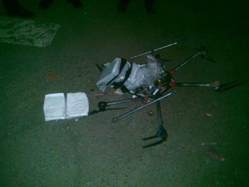 Breaking drones: Drug-laden drone crashes near US-Mexico border