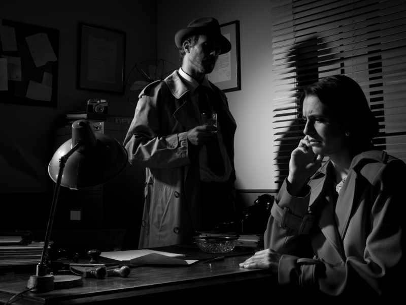 Gigglebit: YouTube users write their own hard-boiled detective prose