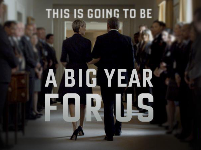 Netflix releases House of Cards Season 3 trailer
