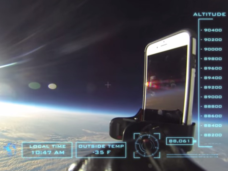 It's all right folks! iPhone 6 fine despite being dropped from space