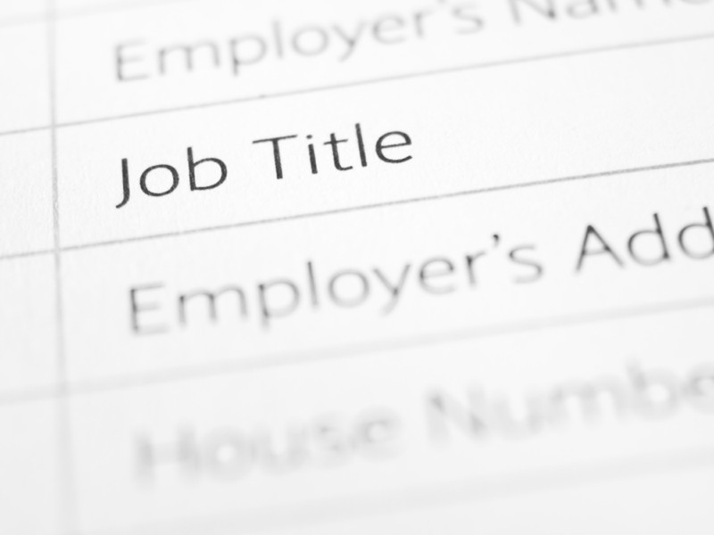 What's in a job title?