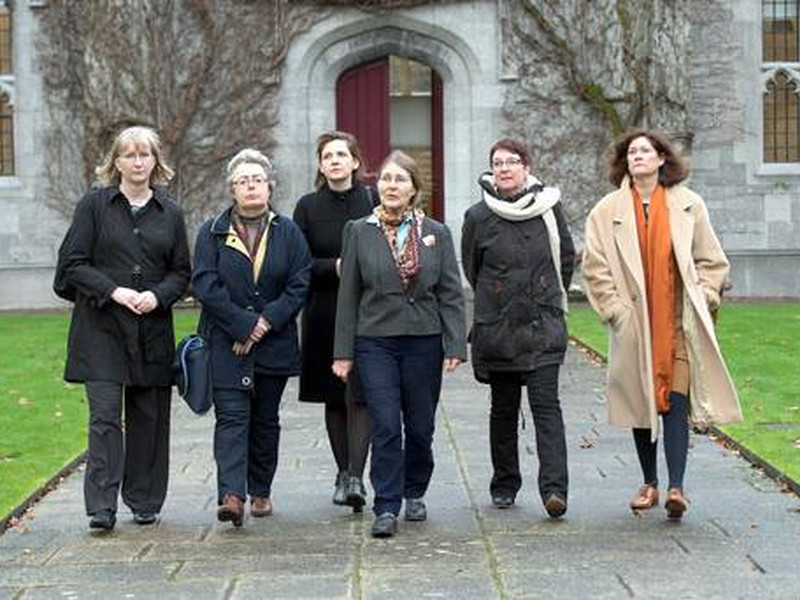 Dr Micheline Sheehy-Skeffington launches campaign against gender discrimination at NUIG