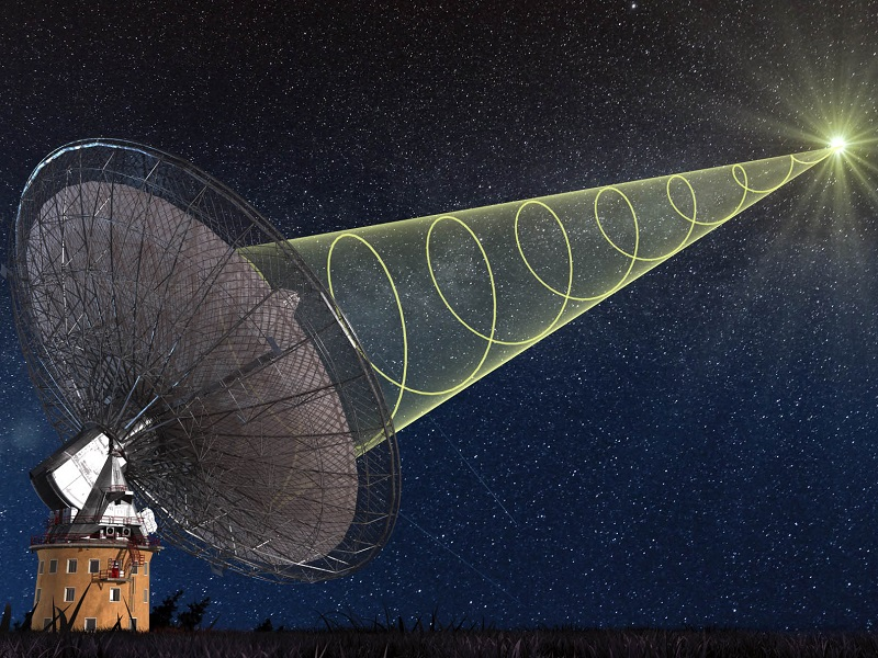 Mysterious, fast cosmic radio burst caught live in a first for science
