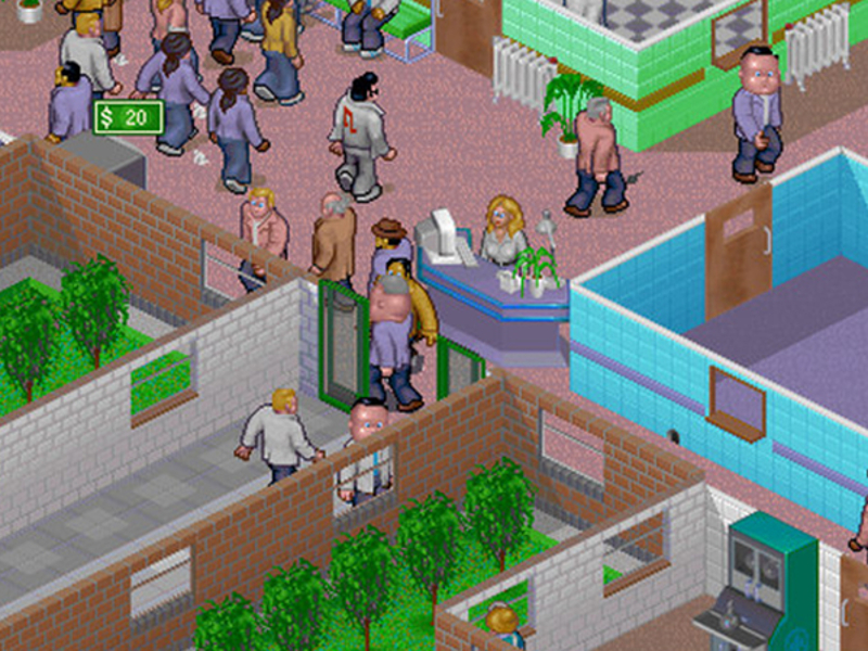 Theme Hospital is available to download right now for free