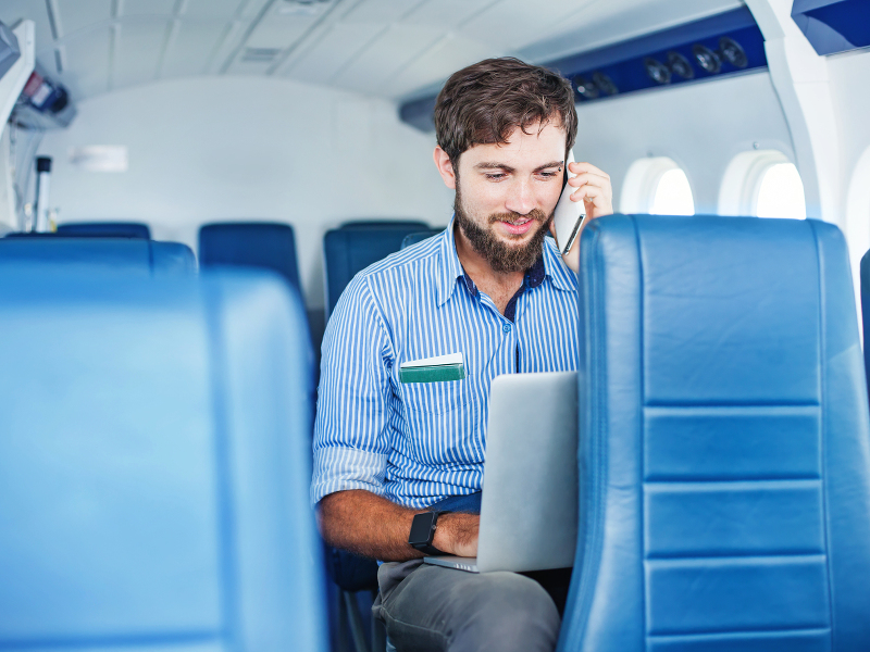 In-flight Wi-Fi rated and ranked around the world – infographic
