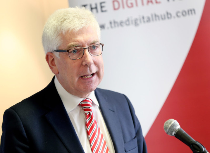 Minister for Communications, Energy and Natural Resources Alex White TD