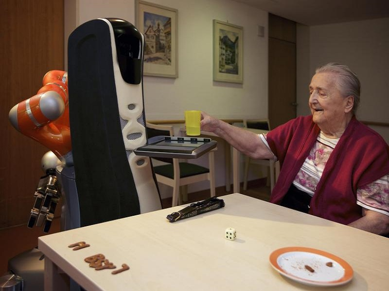 Emotive robot helpers could soon be roaming care homes