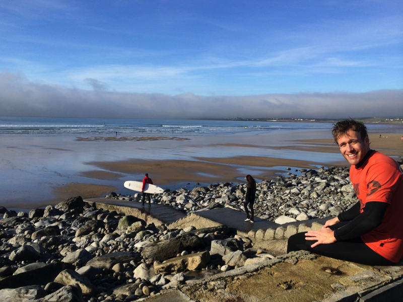 Account executive from Sweden fell in love with Ireland's west coast