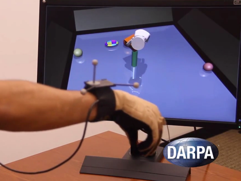 DARPA developing prosthetic arm with sense of touch