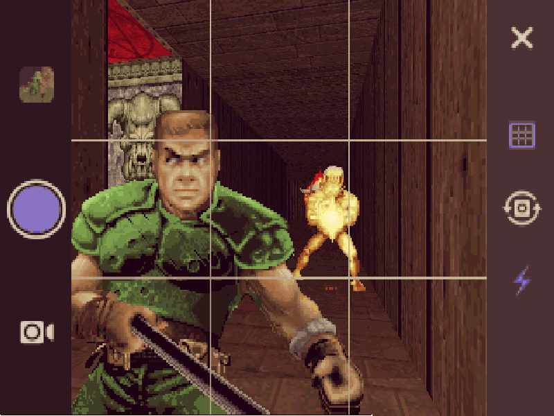 Gamer mods Doom to include selfie stick and Instagram filters