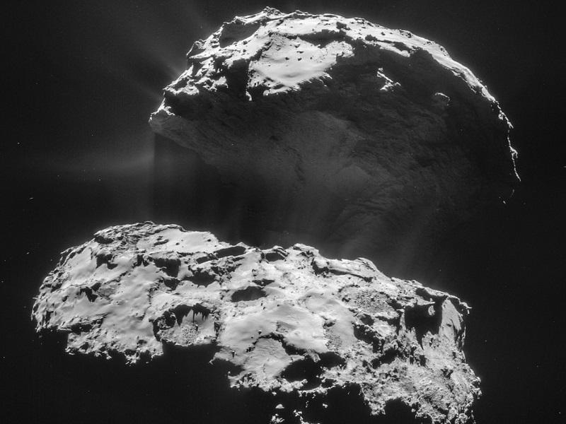 Rosetta probe returns lovely Valentine's Day close-ups of comet