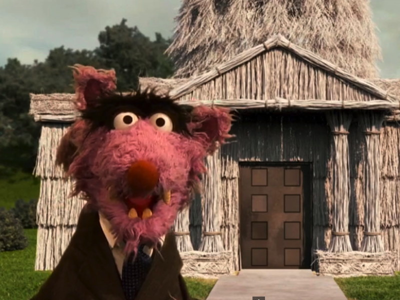 Gigglebit: Sesame Street: House of Bricks (House of Cards Parody)