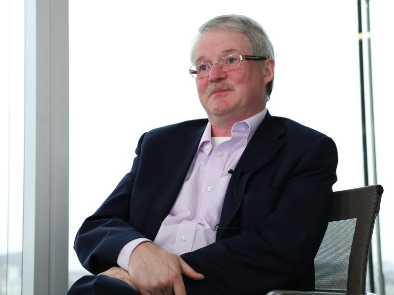 The Interview: Geoff Shakespeare, Eircom (video)