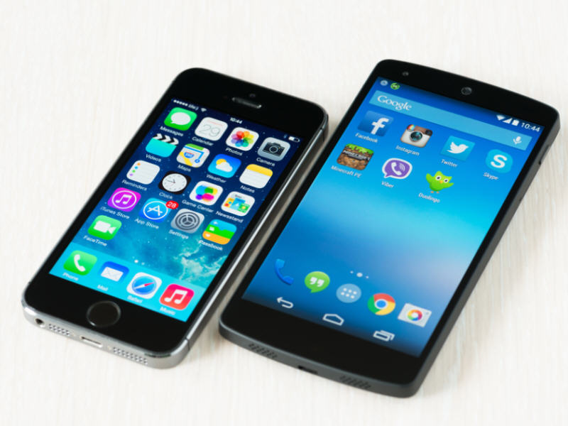 Android and iOS dominate smartphone economy – own 96.3pc of overall OS market
