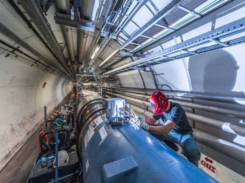 CERN expects new particle discovery as two-year shutdown nears end