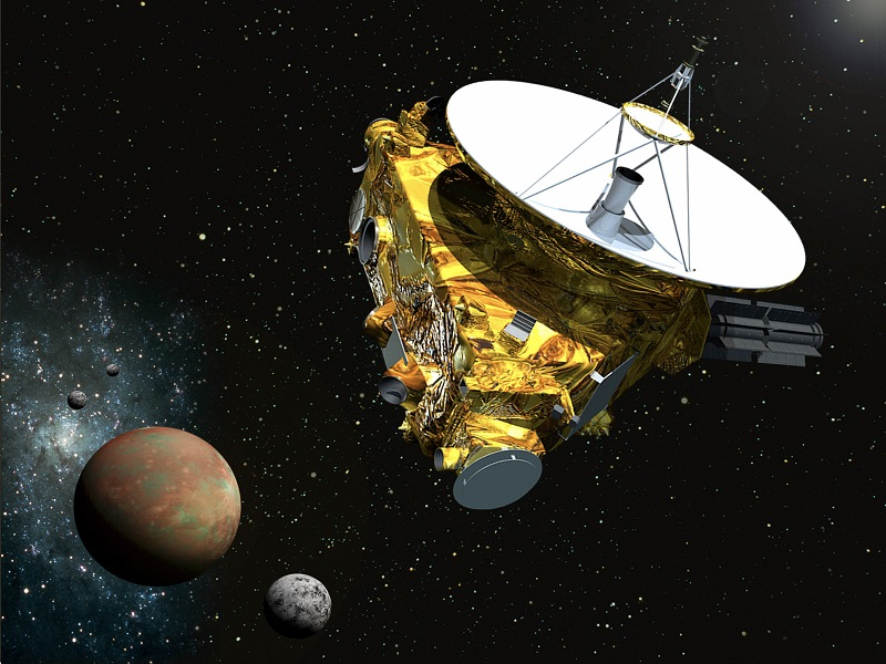 First images of Pluto from New Horizons probe