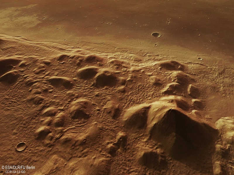 New photos of Mars show evidence of former glaciers