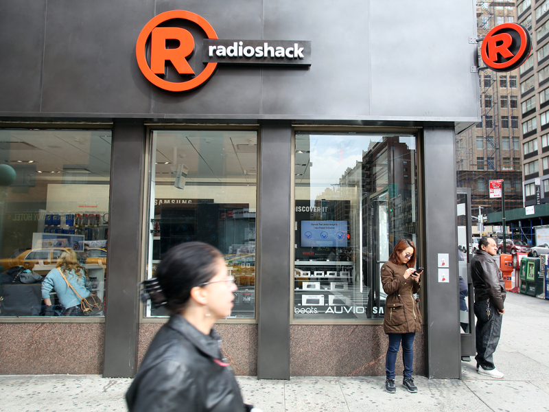 RadioShack files for bankruptcy, will sell off up to 2,400 stores
