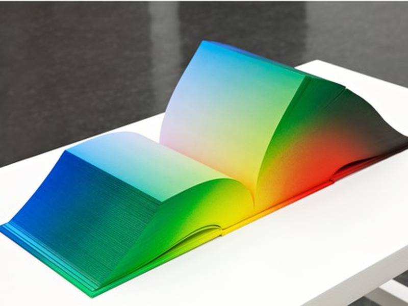 Gigglebit: The full spectrum of the RGB colourspace in book form