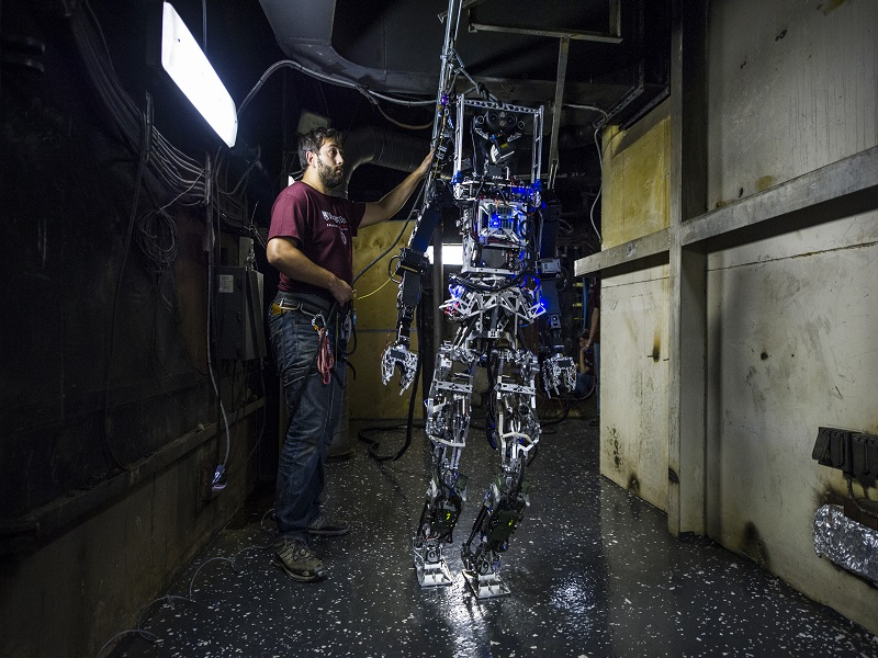 US Navy robot SAFFiR could soon be firefighting on the seven seas