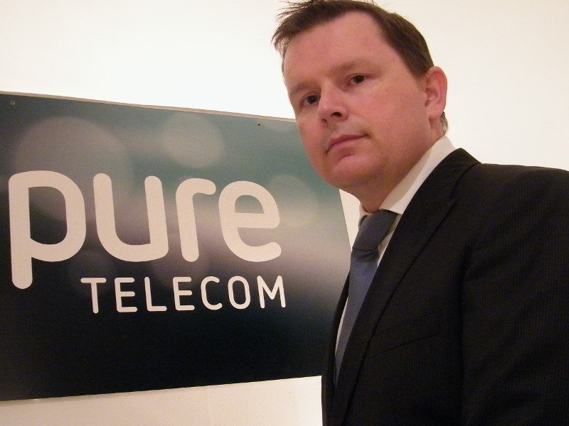 The five minute CIO: Shaun O'Shea, Pure Telecom