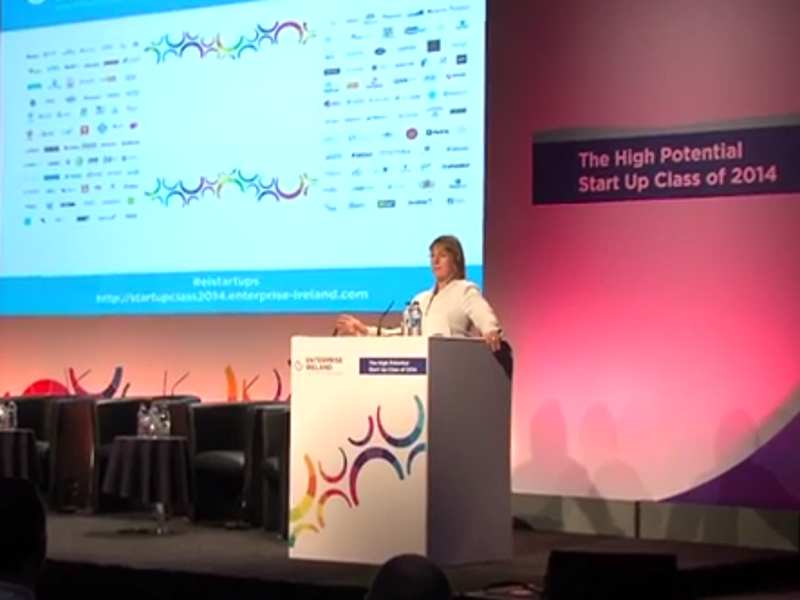 Start-ups will be the life's blood of the Irish economy (video)