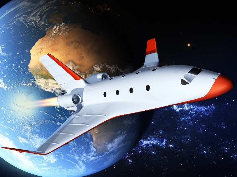 ISS the greatest tourist hotspot around with commercial flights now welcome