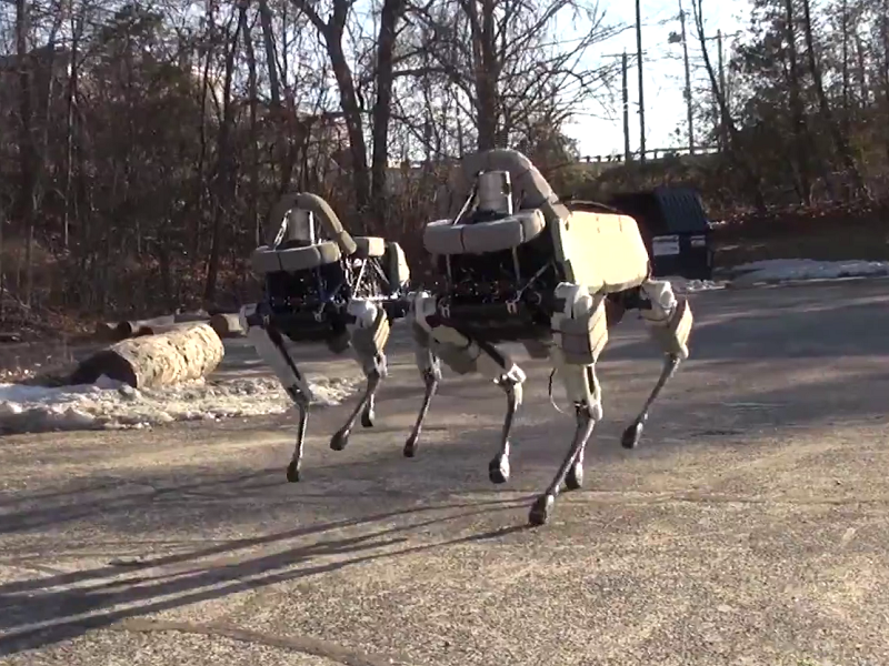Spot the creepy robot dog: Boston Dynamics shows off new toy