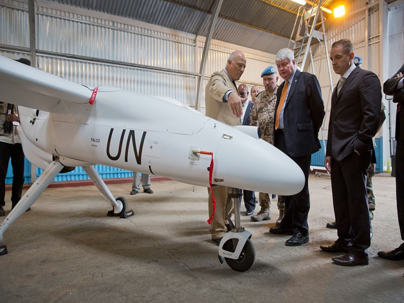UN wants to use drones to engage in peacekeeping operations