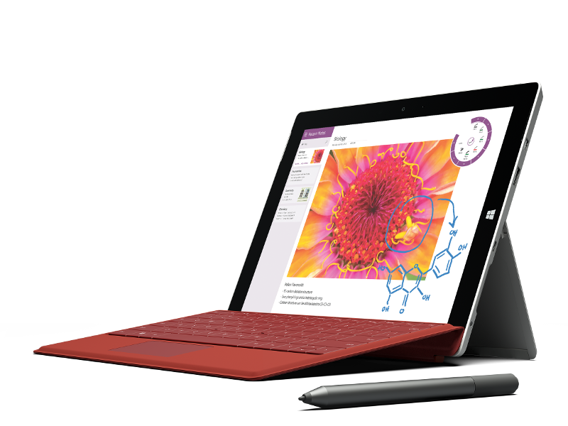 Microsoft reveals 4G-connected Surface 3 device