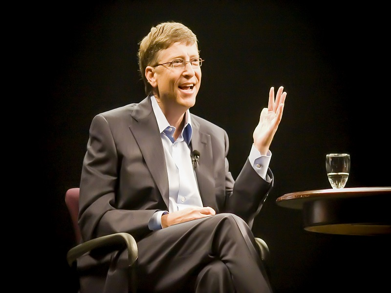 Forbes' Rich List shows Bill Gates is 40 times richer than richest woman in tech