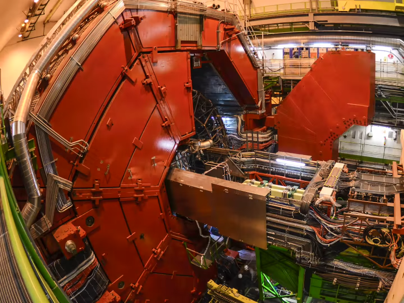 Drone camerawork brings physics fans closer to ALICE in CERN's wonderland