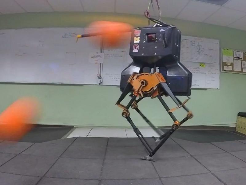 Gigglebit: Robot's defence against dodgeballs had one major flaw …